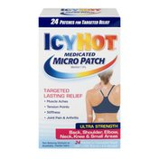 Icy Hot Medicated Micro Patch Ultra Strength - 24 CT