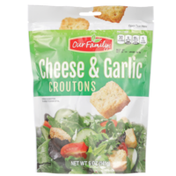 Our Family Cheese & Garlic Croutons