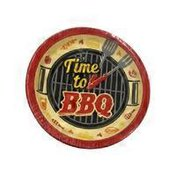 Creative Converting Time to Barbecue Lunch Plate