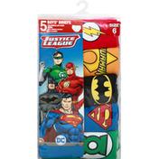 Justice League Briefs, Boys, Size 6