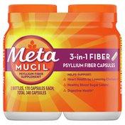 Metamucil Psyllium Fiber Supplement Capsules