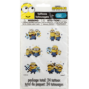 Unique Tattoos, Minions The Rise of Gru, 4 Sheets