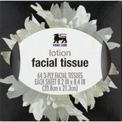Food Lion Facial Tissue, Lotion