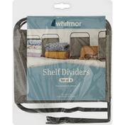 Whitmor Shelf Dividers
