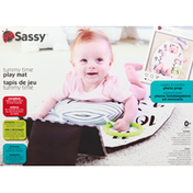 Sassy Play Mat, Tummy Time, 0+ Months
