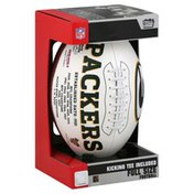 Players Rawlings Green Bay Packers Signature Series Full-Size Football - Green Bay Packers