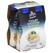 Lala Yogurt Smoothie, Lemon Bar