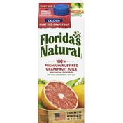 Florida's Natural 100% Juice, Ruby Red Grapefruit, Calcium