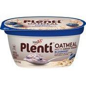 Yoplait Plenti Greek Blueberry Oatmeal with Yogurt