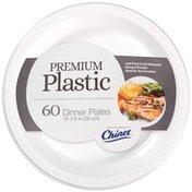 Chinet Premium Plastic 10.25 In Dinner Plates