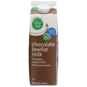 Food Club Chocolate 1% Lowfat Milk