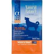 Natural Balance Alpha Dog Trout, Salmon Meal & Whitefish Formula Dog Food
