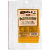 Dietz & Watson Originals Organic Mild Yellow Cheddar Cheese, Pre-Sliced