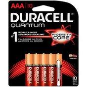 Duracell Duracell Quantum AAA Alkaline Batteries, 10/Pack
