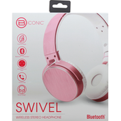 B Iconic Stereo Headphone, Wireless, Swivel, Bluetooth
