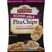 Toufayan Pita Chips, Cinnamon & Sugar