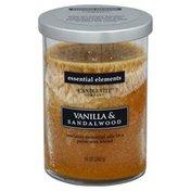 Candle Lite Candle, Vanilla & Sandalwood