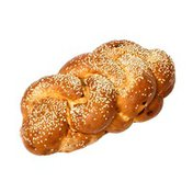 Egg Challah Bread With Sesame Seeds