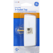 GE Tap, Grounded, 3-Outlet