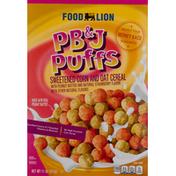 Food Lion PB&J Puffs Cereal
