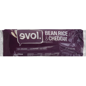 Evol Burrito, Bean, Rice & Cheddar