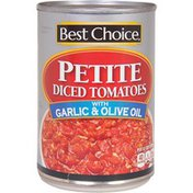 Best Choice Petite Diced Tomatoes With Garlic & Olive Oil