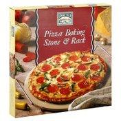 Italian Villa Baking Stone & Rack, Pizza