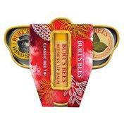 Burt's Bees Classic Bee Tin Holiday Gift Pack