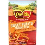 Ore-Ida Sweet Potato Straight Cut French Fries Fried Frozen Sweet Potatoes