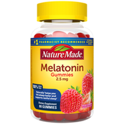 Nature Made Melatonin 2.5 mg Gummies - Dreamy Strawberry