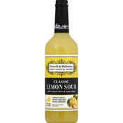 Powell & Mahoney Cocktail Mixer, Lemon Sour with Bitters