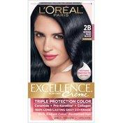 L'Oreal Triple Protection 2B Cooler Intense Blue Black Hair Color