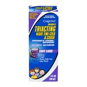 CareOne Children's Triacting Cough & Runny Nose, Night Time, Grape Flavor