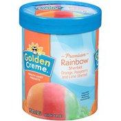 Golden Creme Rainbow Sherbet