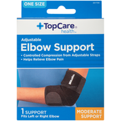 TopCare One Size Moderate Adjustable Elbow Support