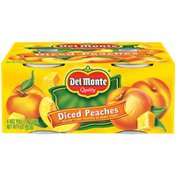 Del Monte Diced Yellow Cling in Heavy Syrup Peaches
