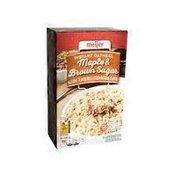 Meijer Instant Oatmeal, Maple & Brown Sugar