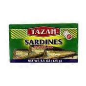 Tazah Sardines In Soya Oil