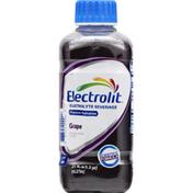 Electrolit Electrolyte Beverage, Grape, Premium Hydration