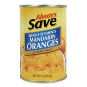 Always Save Mandarin Oranges In Light Syrup