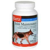 Hartz Joint Maintenance, For Dogs Over 50 lbs, Chewable Tablets