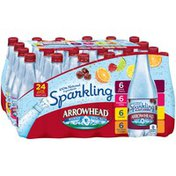 Arrowhead Variety Pack Sparkling Mountain Spring Water