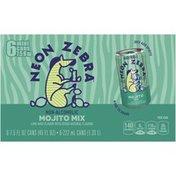 Neon Zebra Mojito Mixer Flavored Beverage
