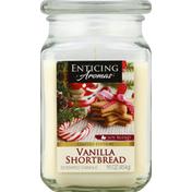 Enticing Aromas Candle, Scented, Vanilla Shortbread