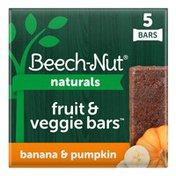 Beech-Nut Naturals Banana & Pumpkin Fruit & Veggie Bars