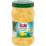 Dole Chunks in 100% Pineapple Juice Dole Pineapple Chunks in 100% Pineapple Juice