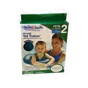 Aqua Leisure Blue Deluxe Tot Trainer With Safety Strap