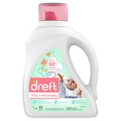 Dreft Stage 2: Active Baby Liquid Laundry Detergent,