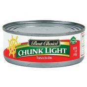 Best Choice Chunk Light Tuna In Oil
