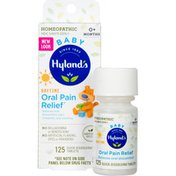 Hyland's Daytime Baby Oral Pain Relief Quick Dissolving Tablets